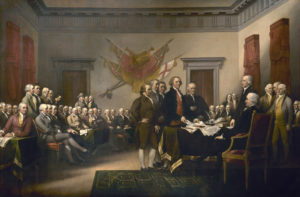 trumbull, declaration of independence