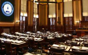 Interior of the Georgia House of Representatives