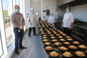 Food Prep + PPE, mercedes benz