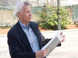Mike Dobbins, environmental portrait