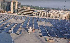 Emory solar panels