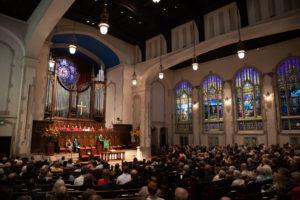 Inside of First Presbyterian Church of Atlanta
