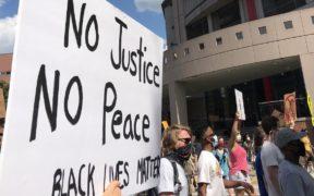 George Floyd, protest, kelly jordan, June 13