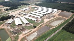 Leatherbrook Farms, aerial view