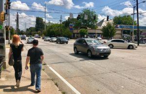 Little Five Points congestion
