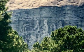 Stone Mountain, carving