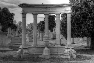 Westview Cemetery Woodruff tomb.