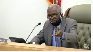 Franklin County [Fl.] Commission Chairman Noah Lockley, Jr.