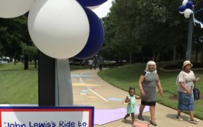 Freedom Park John Lewis Ride to Freedom Play space