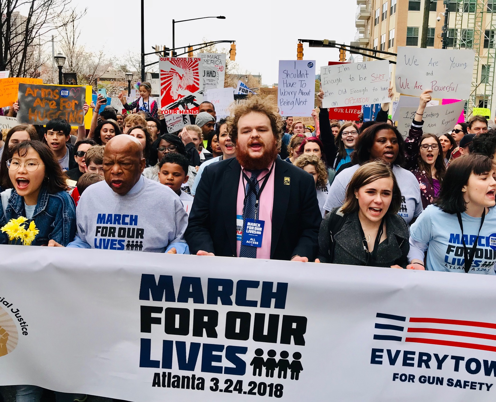 March-for-our-lives-john-lewis