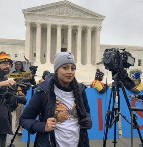 Yehimi Cambrón, SCOTUS, DACA