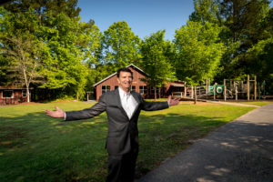 Doug Hertz at Camp Twin Lakes (Special: the Council for Quality Growth)