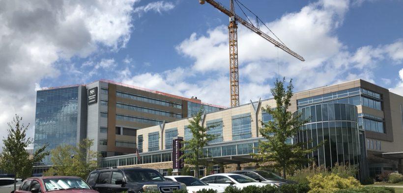 Northside Hospital Cherokee, crane