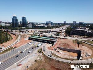 GDOT construction, 400 at 285