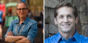 Carolyn Bordeaux and Rich McCormick (Photos via campaigns)