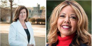 Karen Handel and Lucy McBath (Photos via campaigns)