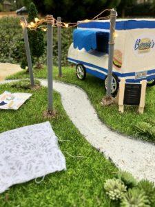 tiny parks, food truck