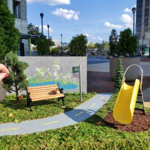 tiny parks, slide