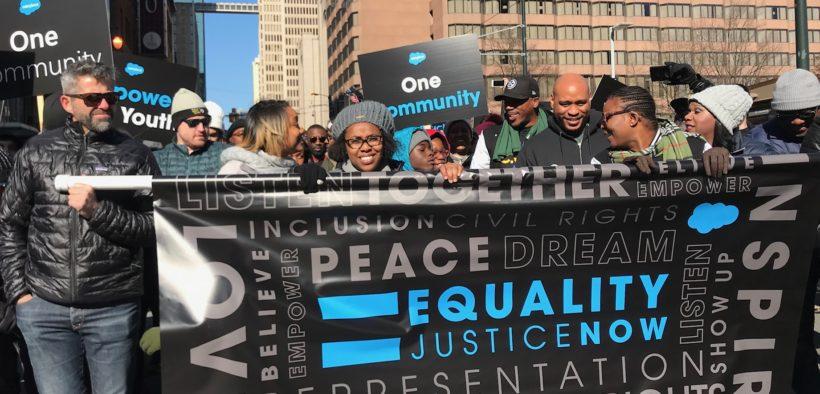 MLK Parade Atlanta Peachtree