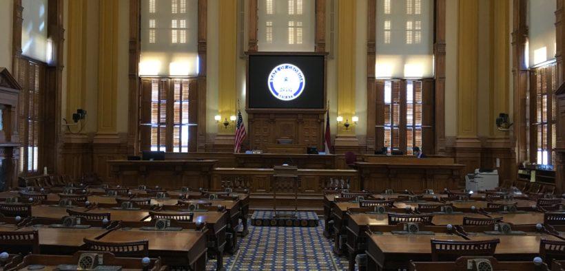 Georgia Senate floor Capitol file