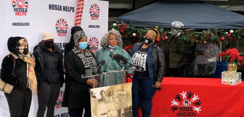 Christmas Eve 2020 Hosea Feed the Hungry event Georgia World Congress Center Atlanta