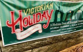 Oakland Cemetery Victorian Holiday December 2018 banner Atlanta