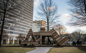 The ATL playground in Woodruff Park. (Credit: Sinan CC BY 2.0