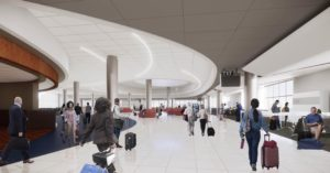 A sketch of the Terminal T extension. Credit: Special