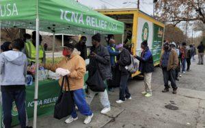 INCA Relief, food line