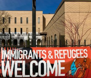 immigrants welcom, jesus joseph and mary