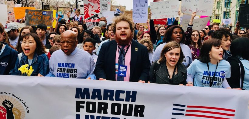 March for Our Lives 2018 Atlanta downtown John Lewis