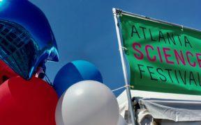 Atlanta Science Festival flag