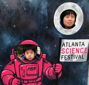 atlanta science festival, astronaut