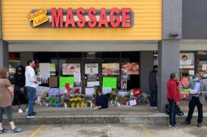 massage shooting, acworth, storefront