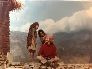 Sally Sears, Thanksgiving Greetings Nepali girls & bandana