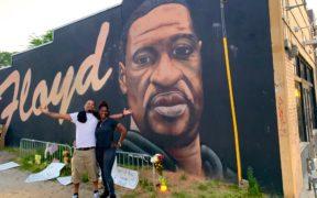 Chauvin George Floyd verdict 2021 Atlanta mural