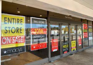 Greenbriar Mall 2021 macys closed