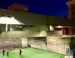 MARTA, Five Points, soccer pitch
