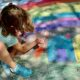 Chalk Walk Decatur downtown 2021