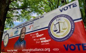 John Lewis Voting Vote Atlanta 2021