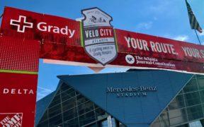 Velocity Grady Atlanta finish line Mercedes AJC Home Depot