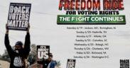 Freedom Ride 2021 Ebenezer Auburn Avenue Voting