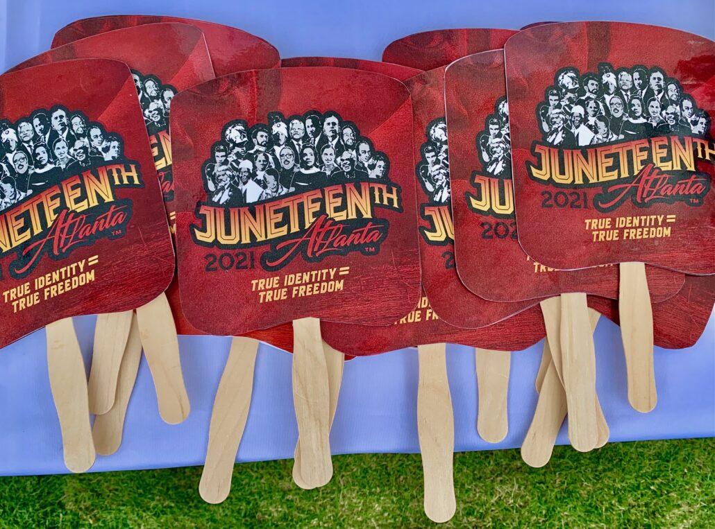 Juneteenth 2021 Centennial Park Atlanta