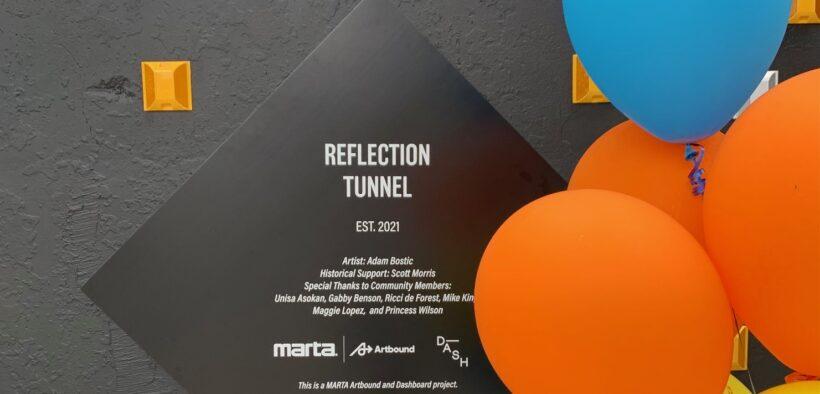 Reflection Tunnel, MARTA, MLK, Atlanta, art