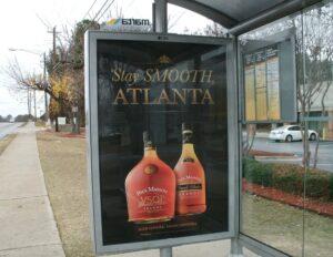 MARTA, alcohol ad