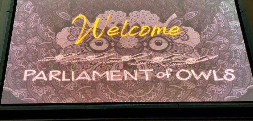 Parliament of Owls Lantern Parade Colony Square Atlanta