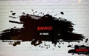 Art of Banksy, Underground Atlanta, September 2021