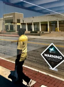 west end, warning sign