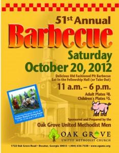51st Annual Barbecue at Oak Grove United Methodist Church