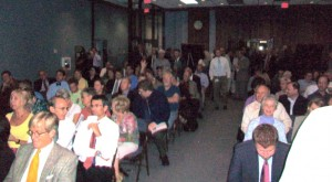 The Cobb Transportation Forum was a calmer event than a similar forum earlier in September. Credit: David Pendered